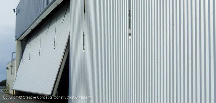 Hangar door types glossary